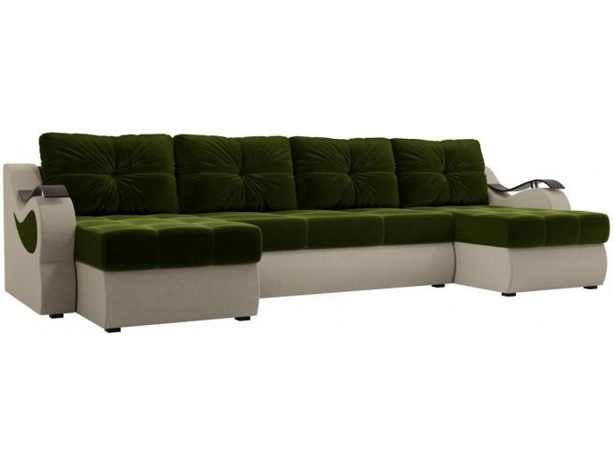 """П-образный диван """"Меркурий"""" вельвет"""
