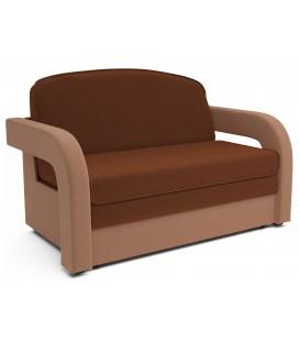 "Выкатной диван ""Кармен 2"" астра плюшевого типа"