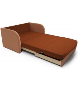 """Выкатной диван """"Малютка"""" астра плюшевого типа"""