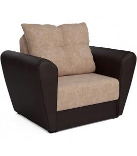 """Кресло-кровать """"Квартет"""" микровельвет артикул 1979"""