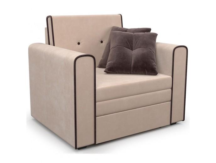 """Кресло-кровать """"Санта"""" микровельвет Кордрой"""