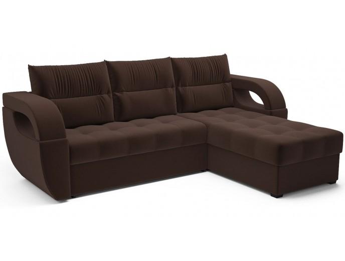 """Угловой диван """"Мартин"""" микровельвет"""