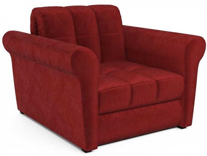 "Кресло-кровать ""Гранд"" на металлокаркасе бархат"