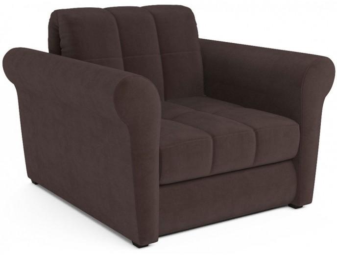 """Кресло-кровать """"Гранд"""" на металлокаркасе велюр"""