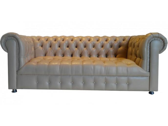 """Офисный диван """"Честер"""" низ каретка трехместный"""
