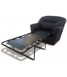 """Кресло-кровать """"Бизон"""" экокожа"""