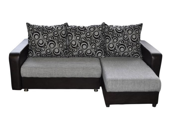 """Угловой диван """"Мадрид"""" рогожка"""