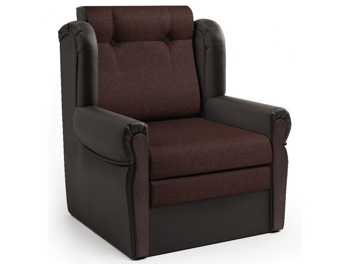 "Кресло-раскладушка ""Классика М"" шоколад и рогожка"