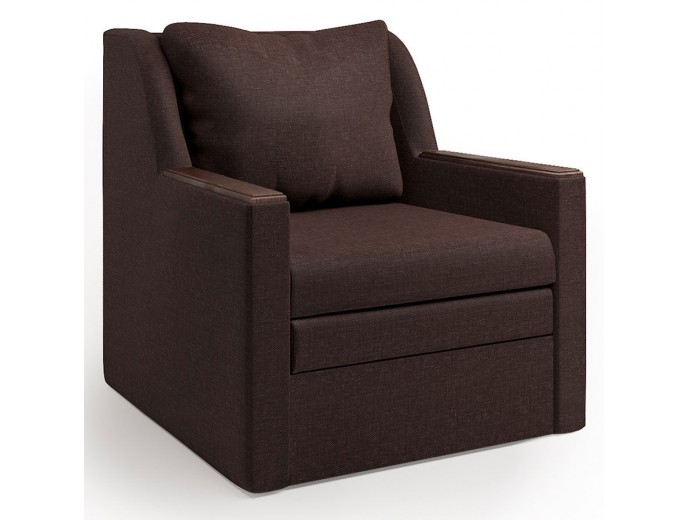 """Кресло-кровать """"Соло"""" рогожка шоколад"""