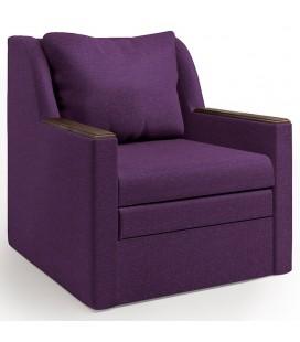 """Кресло-кровать """"Соло"""" рогожка фиолет"""