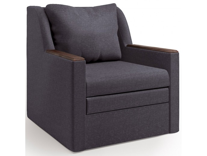 """Кресло-кровать """"Соло"""" рогожка серый"""