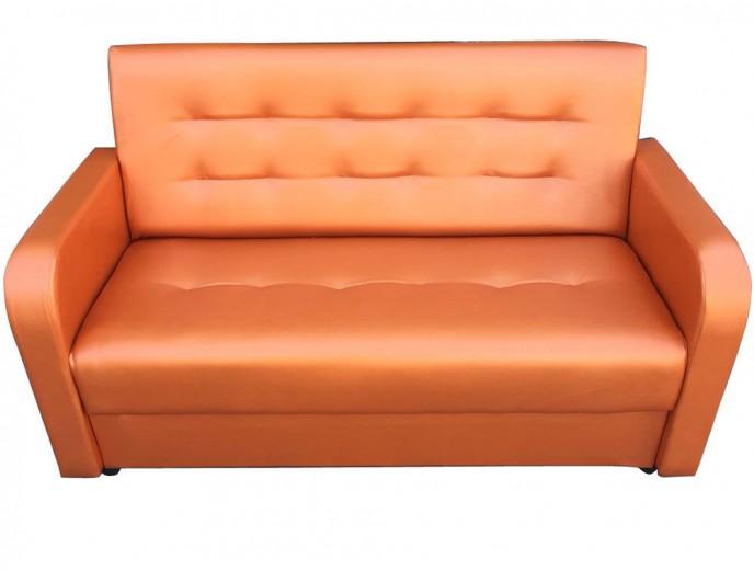 """Офисный диван """"Аккорд"""" без механизма оранжевый"""