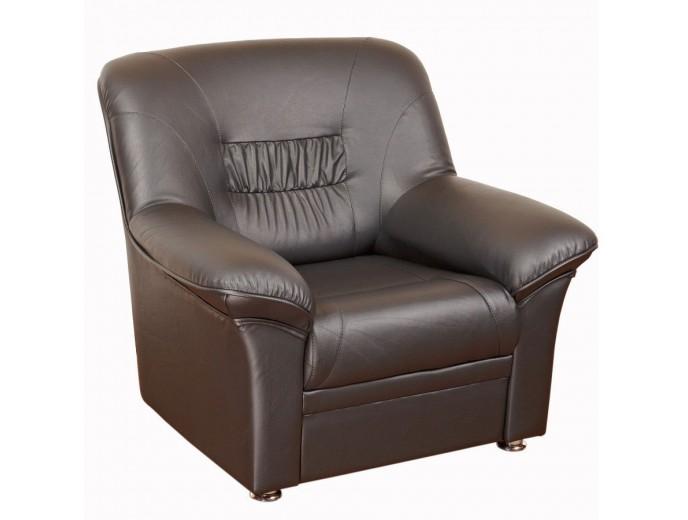 """Офисное кресло для отдыха """"Карелия"""" коричневый"""