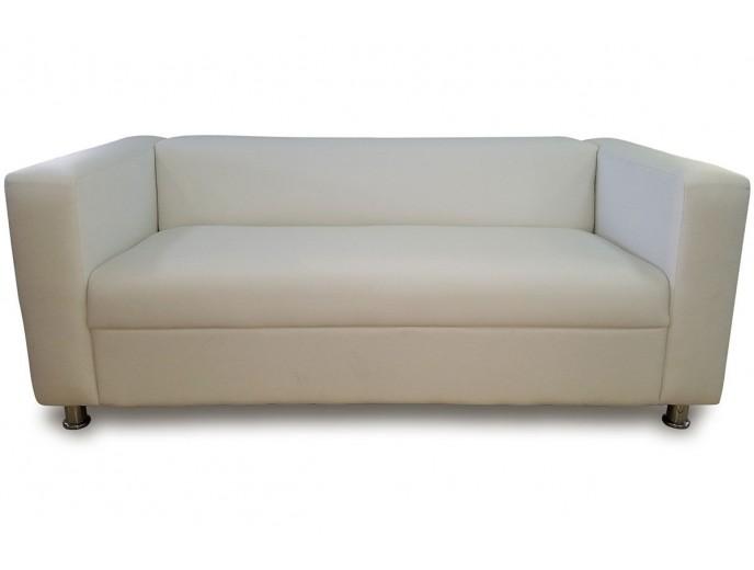 """Офисный диван """"Клиппан"""" экокожа беж"""