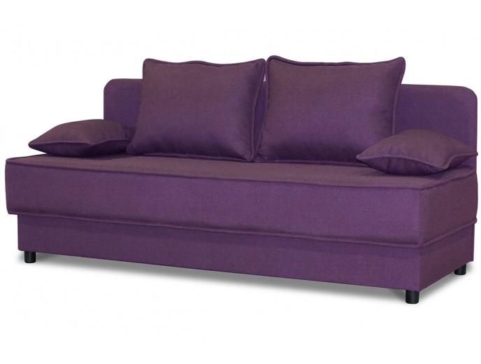 """Кушетка-диван """"Уют"""" рогожка фиолетовый"""