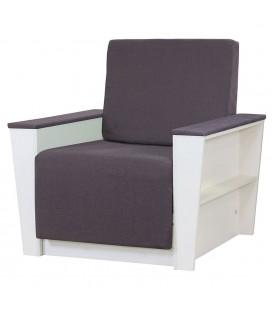 """Кресло-кровать """"Бруно 2"""" рогожка серый"""