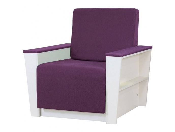 """Кресло-кровать """"Бруно 2"""" рогожка фиолетовый"""