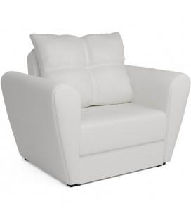 """Кресло-кровать """"Квартет"""" экокожа белый"""