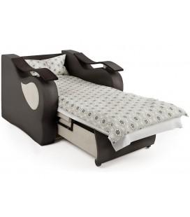 """Кресло-кровать Меркурий"""" корфу и экокожа"""