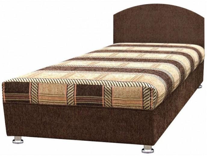 """Кушетка """"Кровать 2 без ящика"""" мегабосс коричневый"""