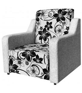 """Кресло-кровать """"Мюнхен"""" рогожка цветы"""