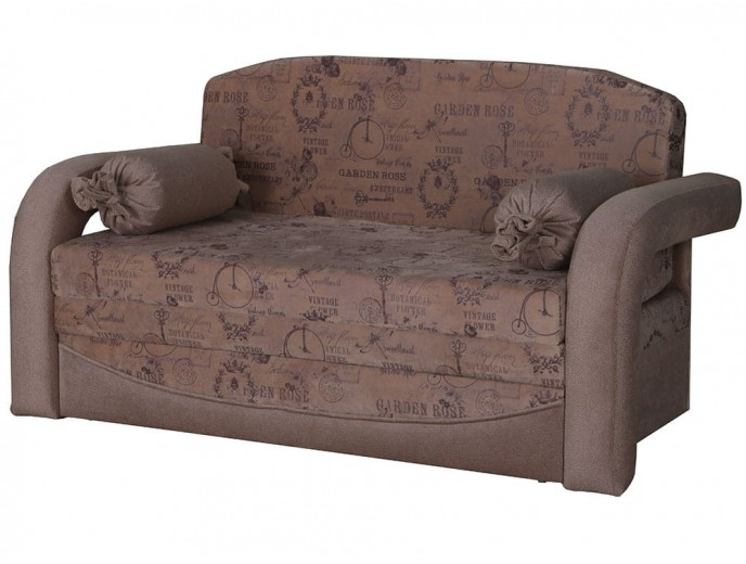 """Детский выкатной диван """"Димочка 130"""" микровелюр"""