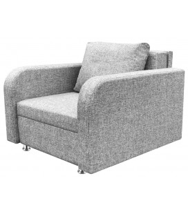 """Кресло-кровать """"Марс"""" серая рогожка"""