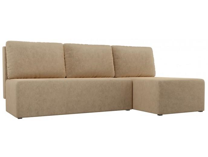 """Угловой диван """"Поло"""" вельвет"""