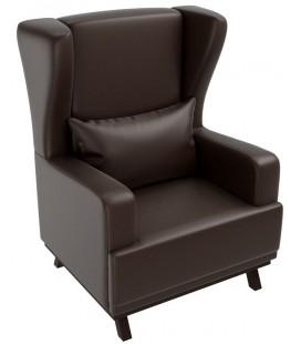 """Кресло для отдыха """"Джон"""" экокожа артикул 1340"""