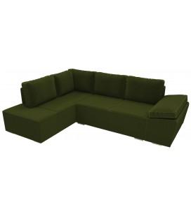 """Угловой диван """"Артикул 1384"""" вельвет"""