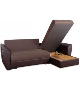 """Угловой диван """"Амстердам"""" рогожка"""