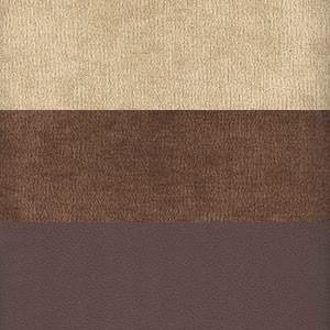 Вельвет бежевый коричневый Экокожа коричневый