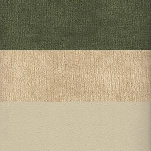 Вельвет зеленый бежевый Экокожа бежевый