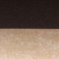 микровельвет Кордрой коричневый-бежевый