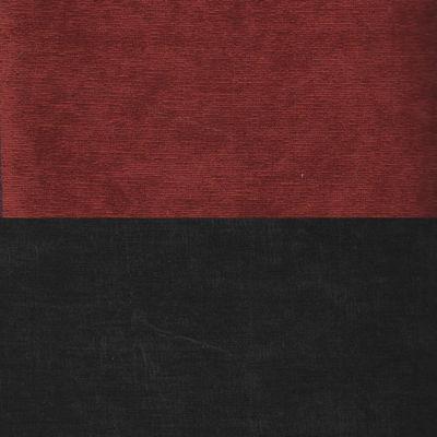 Вельвет красный черный