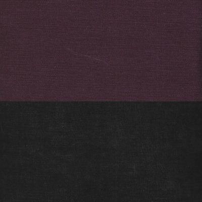 Вельвет фиолетовый черный