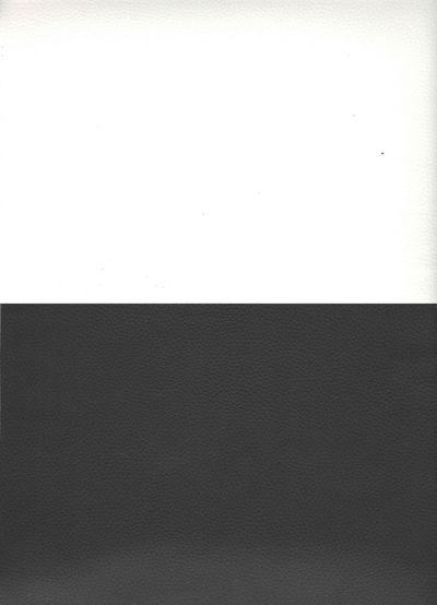Искусственная кожа белый черный