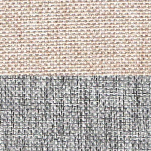 Рогожка бежевый серый
