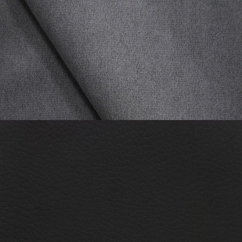 велюр MIX pln 09 + Иск. кожа Neptun Black