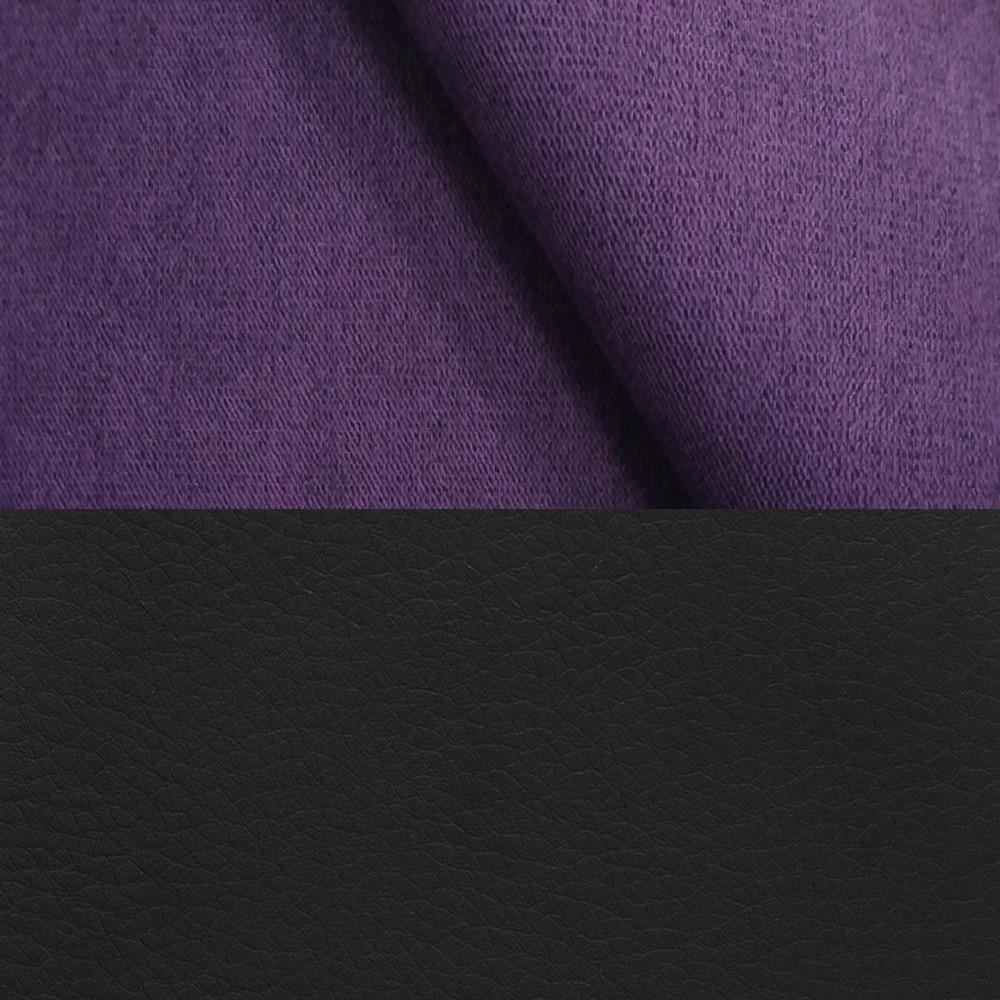 велюр MIX pln 16 + Иск. кожа Neptun Black