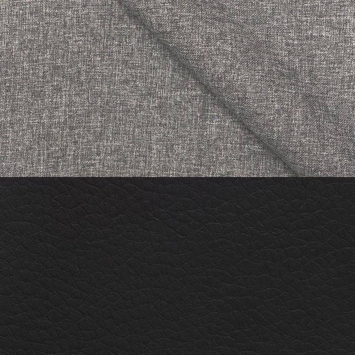 Lega Grey + Иск. кожа Neptun Black