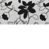 Рогожка на флоке + экокожа белая