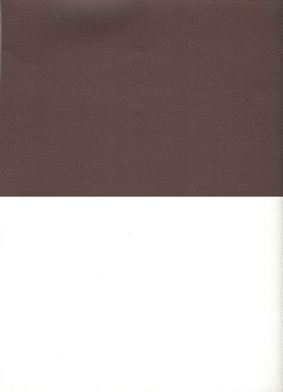 Искусственная кожа коричневый белый