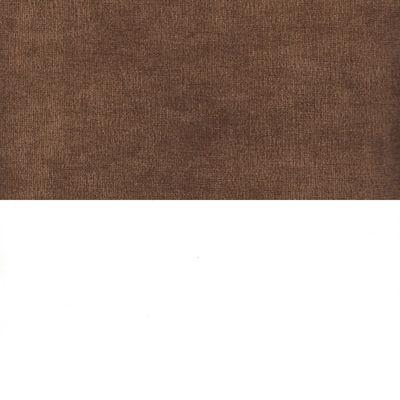 Вельвет коричневый Экокожа белый