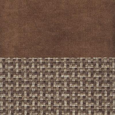 Вельвет коричневый Рогожка корфу 03