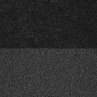 Вельвет черный Экокожа черный