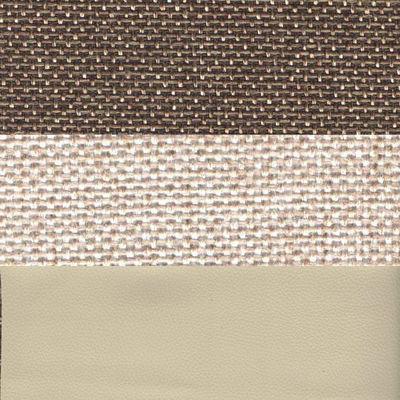 Рогожка коричневый бежевый Экокожа бежевый