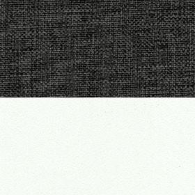 Рогожка Savana Grey и ЛДСП белый матовый