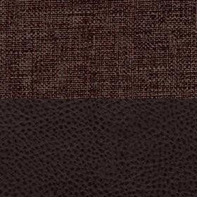 Рогожка Savana chocolate и Экокожа Полярис шоколад